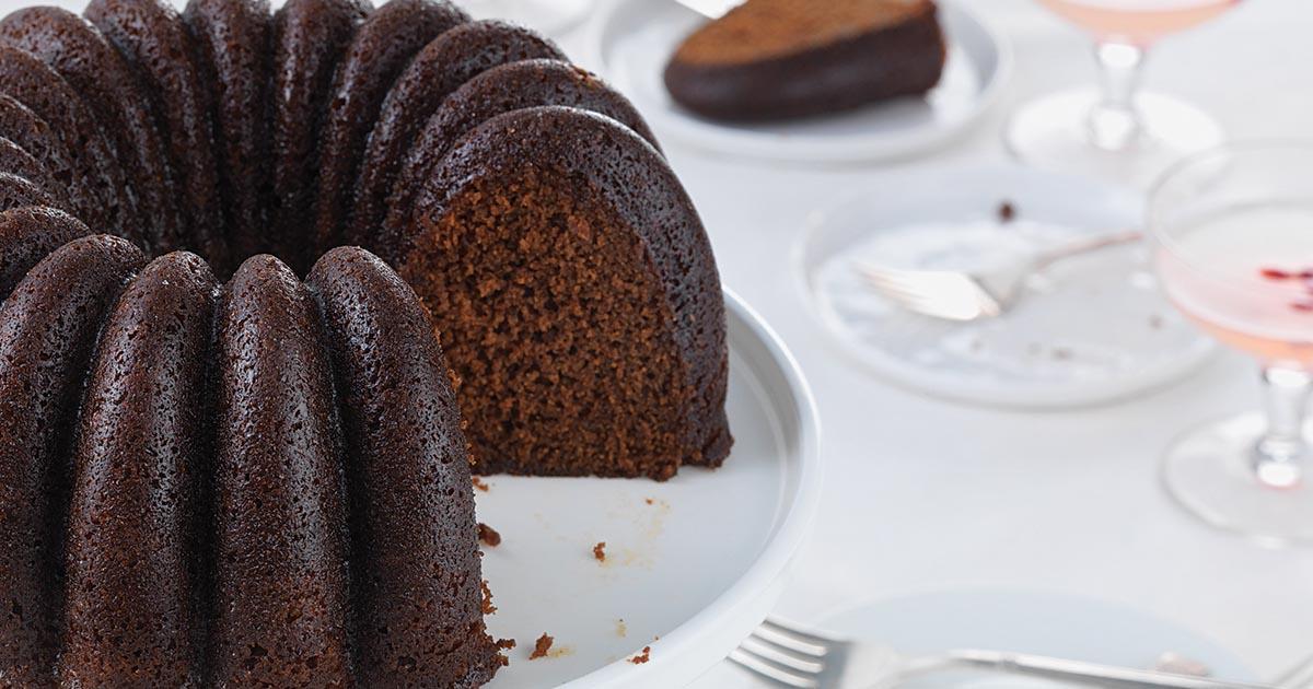 King Arthur Gingerbread Bundt Cake