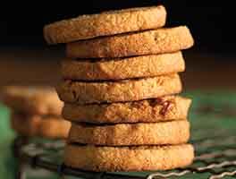 Gluten-Free Maple Pecan Shortbread Cookies