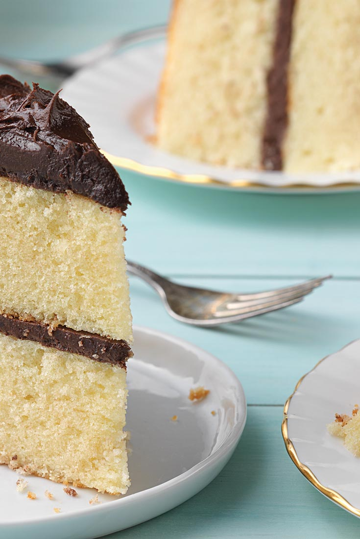 Back-to-Basics Moist Yellow Cake Recipe