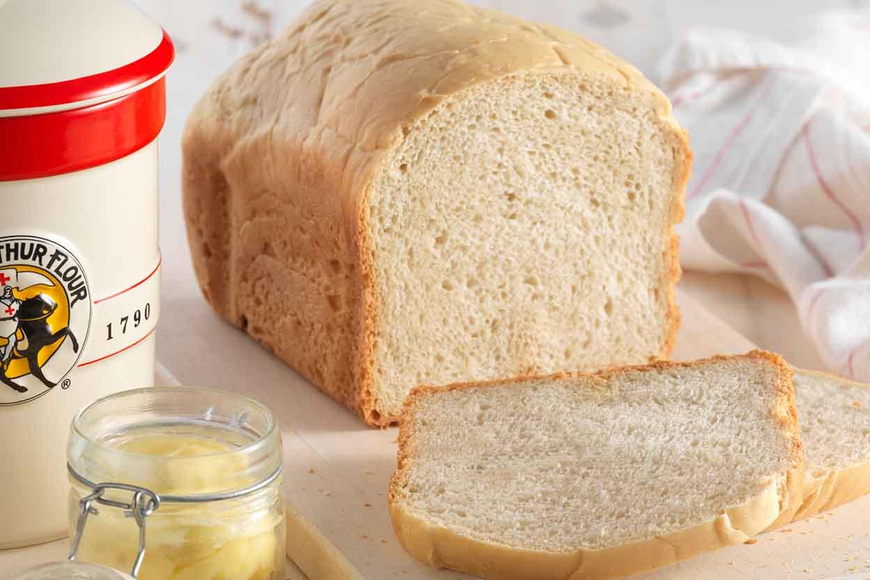 Bread Machine Sourdough Bread Recipe   King Arthur Flour