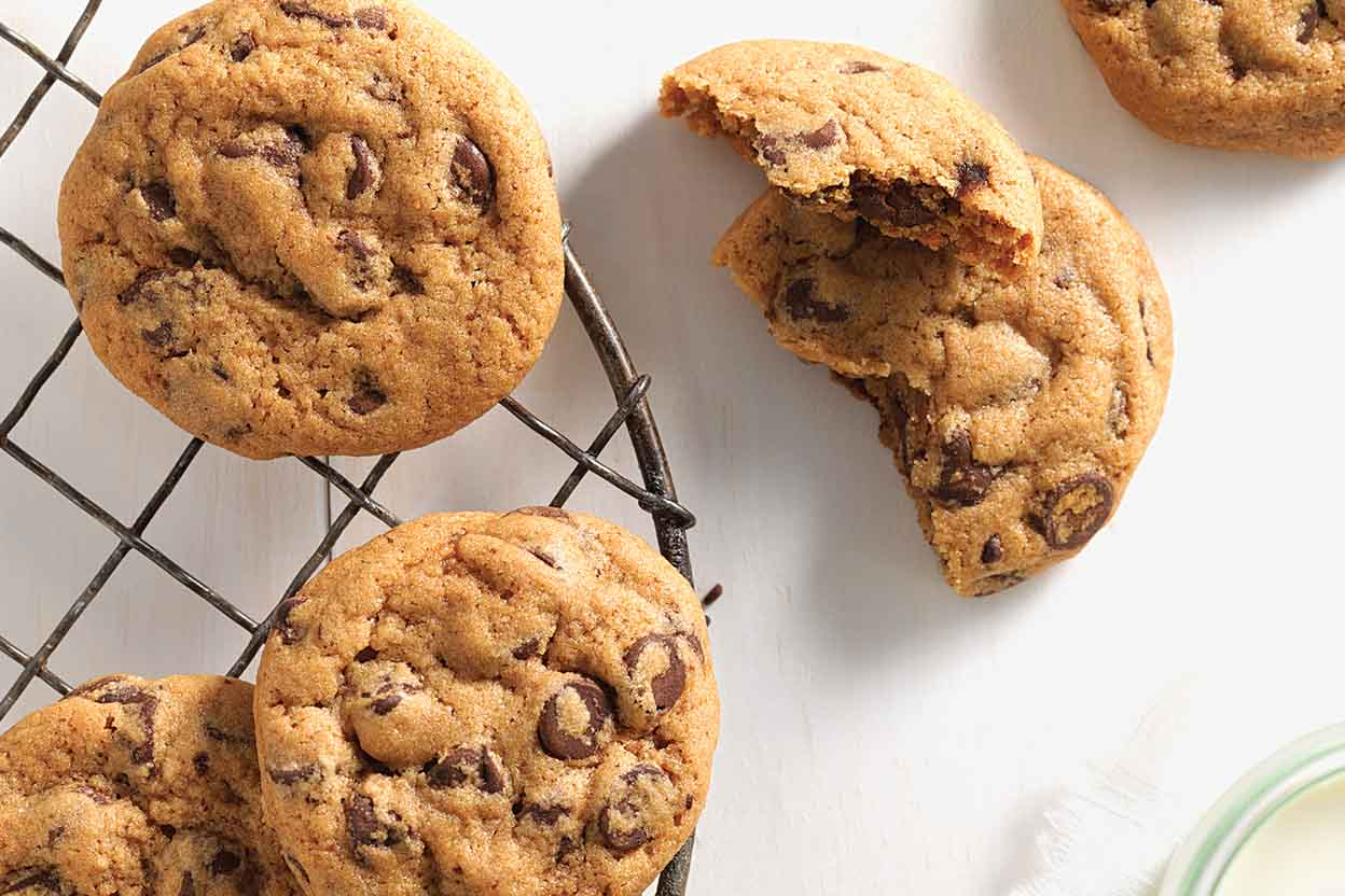 Chocolate Chip Cookie That Made By Whole Wheat Flour