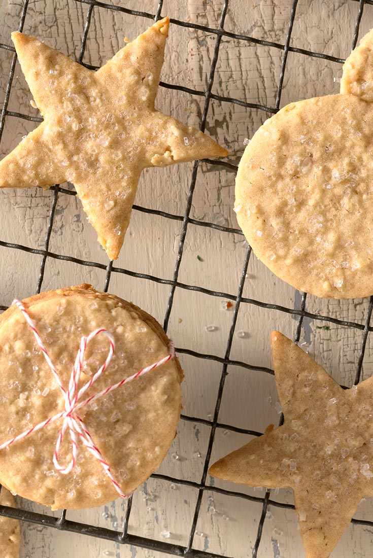 Chewy Oatmeal Decorating Cookies Recipe
