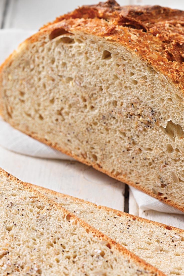A Simple, Rustic Loaf Recipe