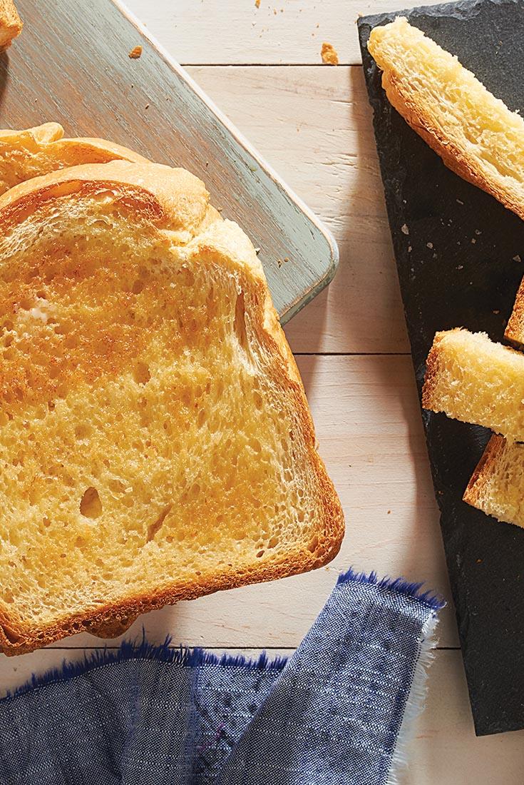 White Breakfast Bread Recipe