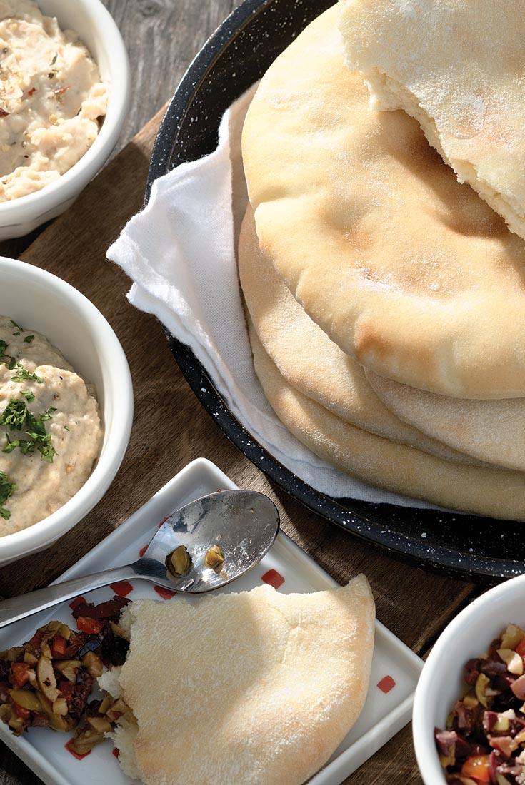 Golden Pita Bread Recipe