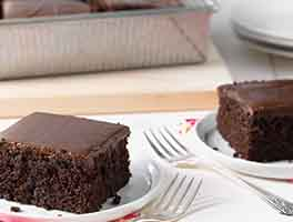 King Arthur Flour's Favorite Fudge Cake