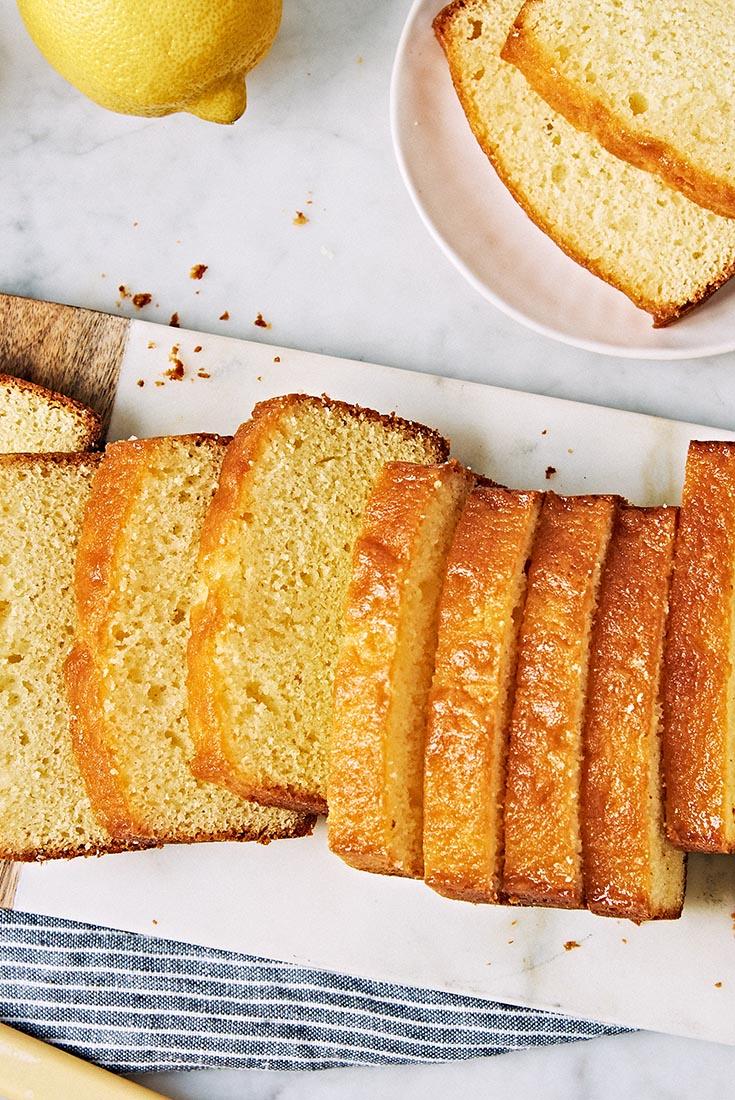 Lemon-Glazed Pound Cake Recipe - King Arthur Flour - 웹