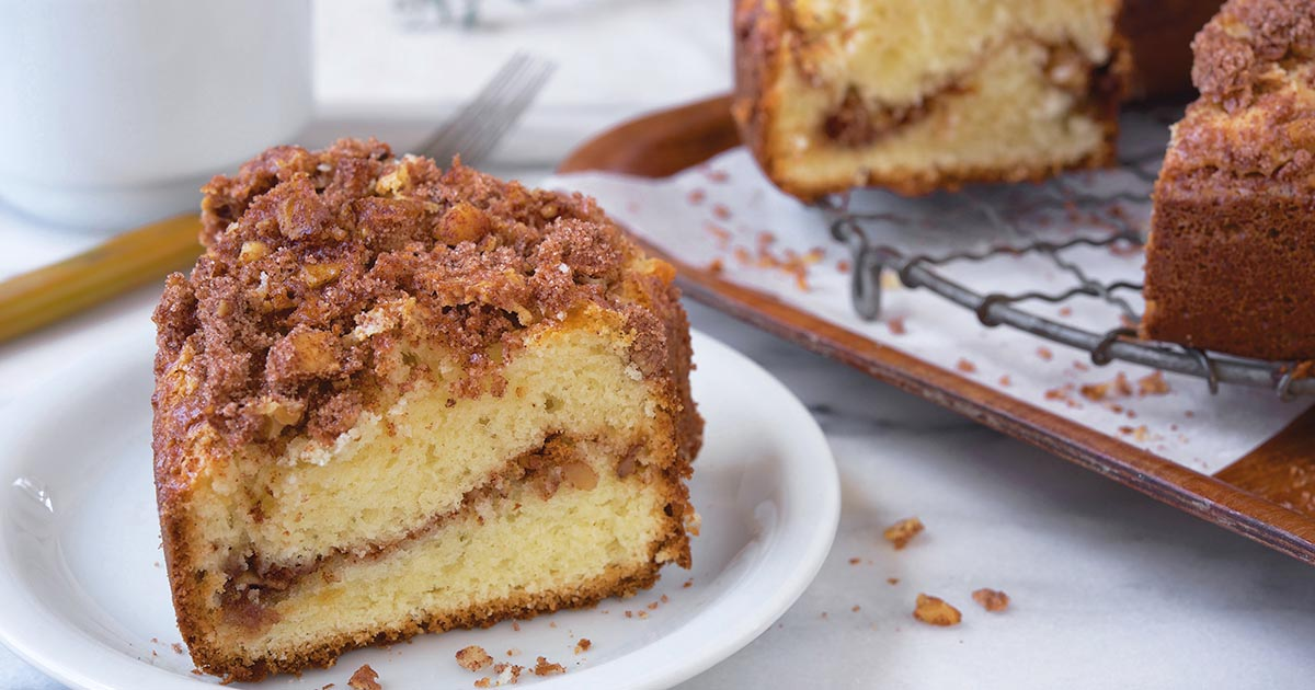 Best Coffee Cake Recipe King Arthur Flour: Flipboard: How To Make Bananas Foster Coffee Cake