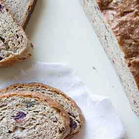 Sprouted Wheat Easy Rustic Bread