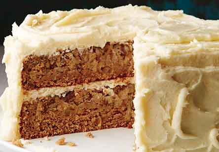 Sprouted Wheat Spice Cake