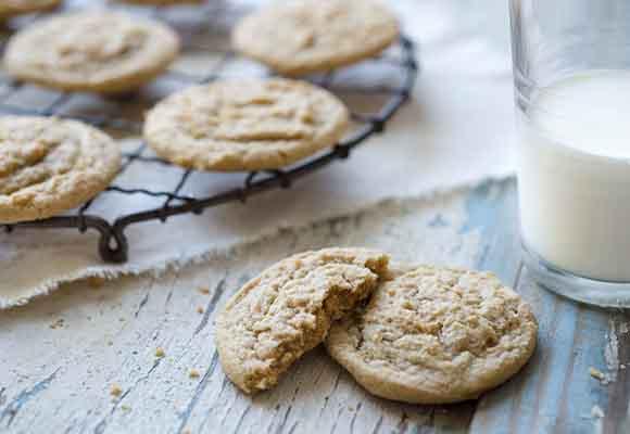 Sprouted Wheat Drop Cookies Recipe