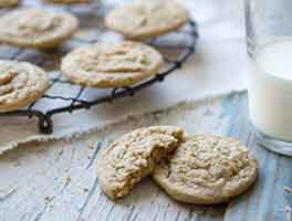 Sprouted Wheat Drop Cookies