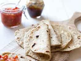 Whole Grain Flatbread (Chapati)