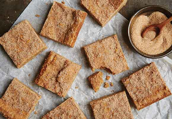 Sprouted Wheat Vanilla Chai Bars Recipe