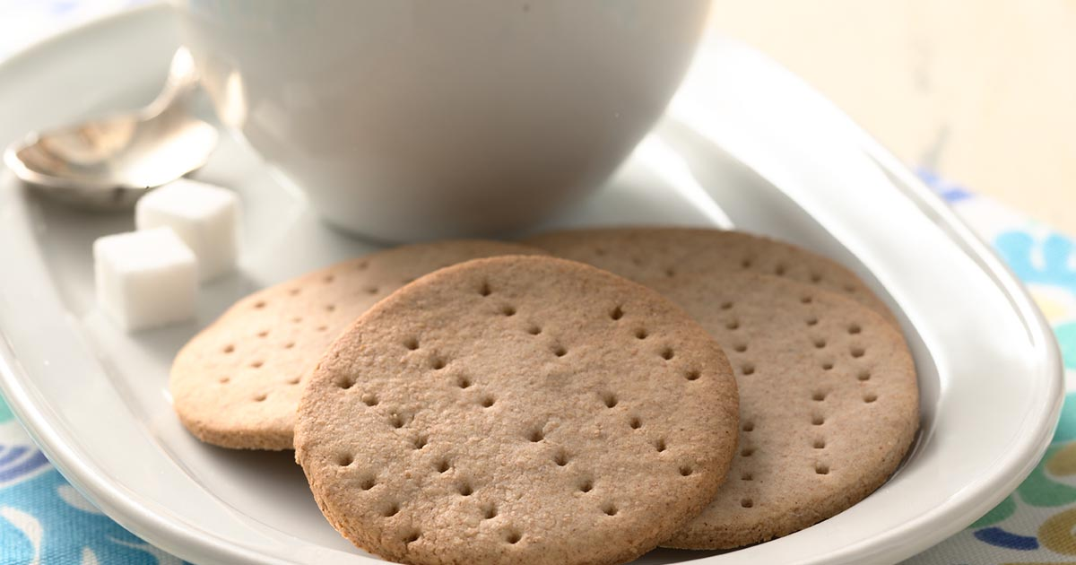King Arthur's English Digestive Biscuits Recipe | King