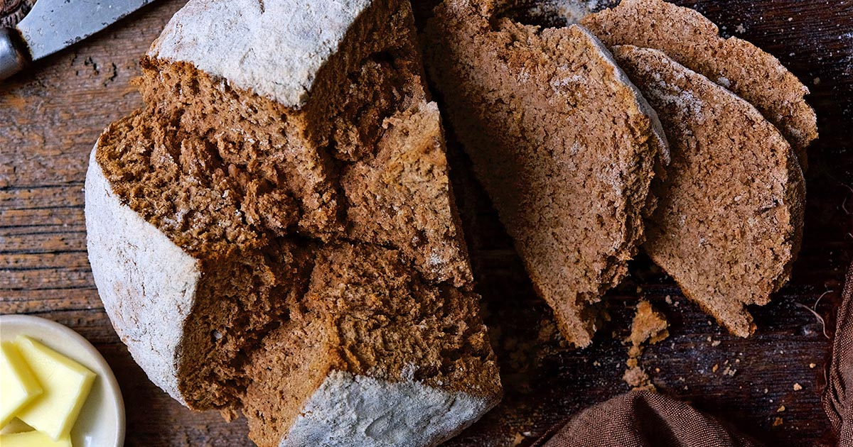 Irish Brown Bread Recipe King Arthur Flour