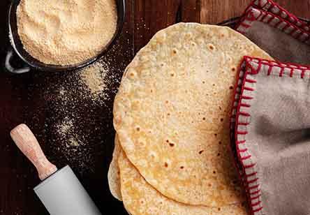 Thin Cornmeal Tortillas