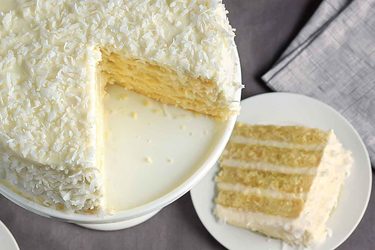 King Arthur King Cake Recipe: Coconut Cake Recipe