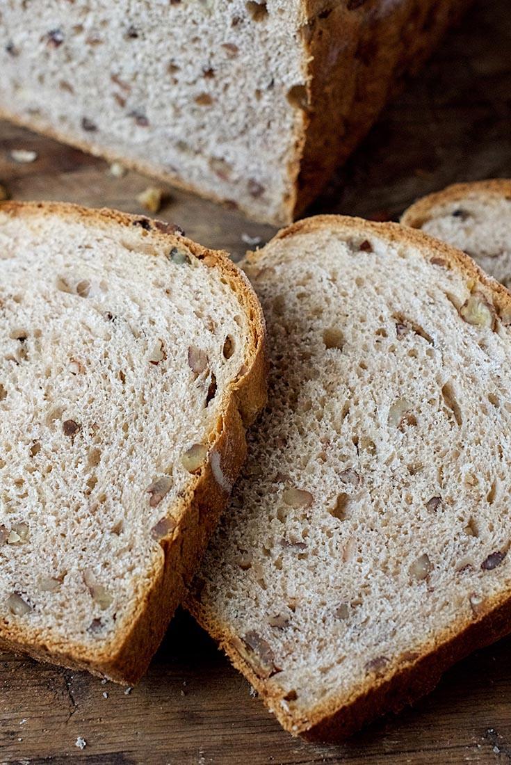 Pecan Wheat Bread  Recipe