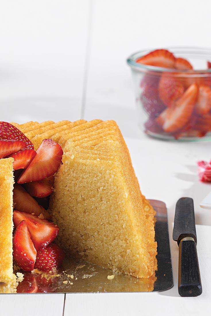 Olive Oil Bundt Cake Recipe