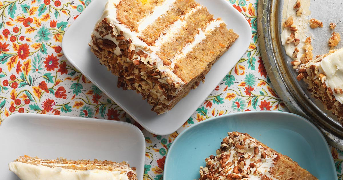 King Arthur Flour Carrot Cake