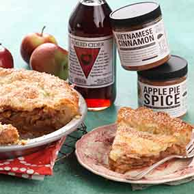 Secret Ingredient Apple Pie