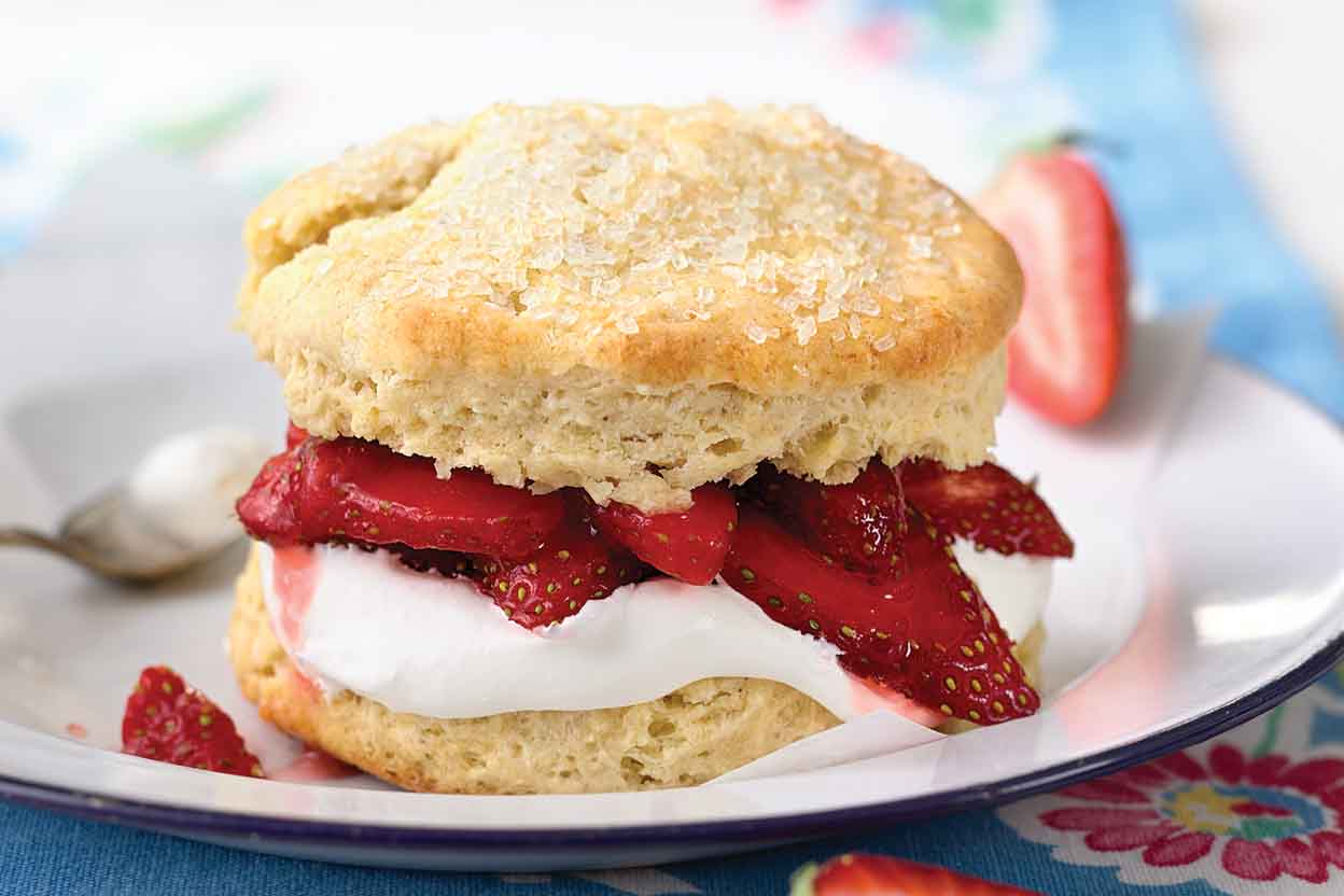 Strawberry Shortcake Recipe King Arthur Flour