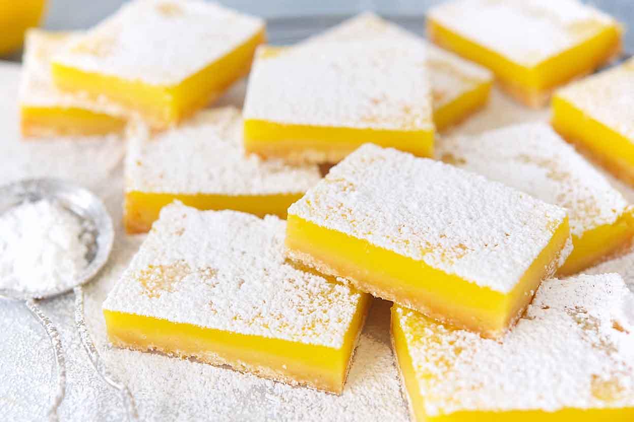 Lemon Squares Recipe | King Arthur Flour