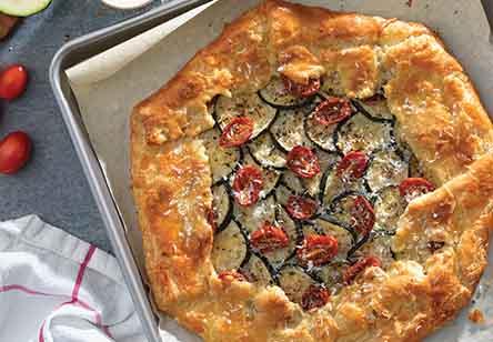 Savory Zucchini Galette
