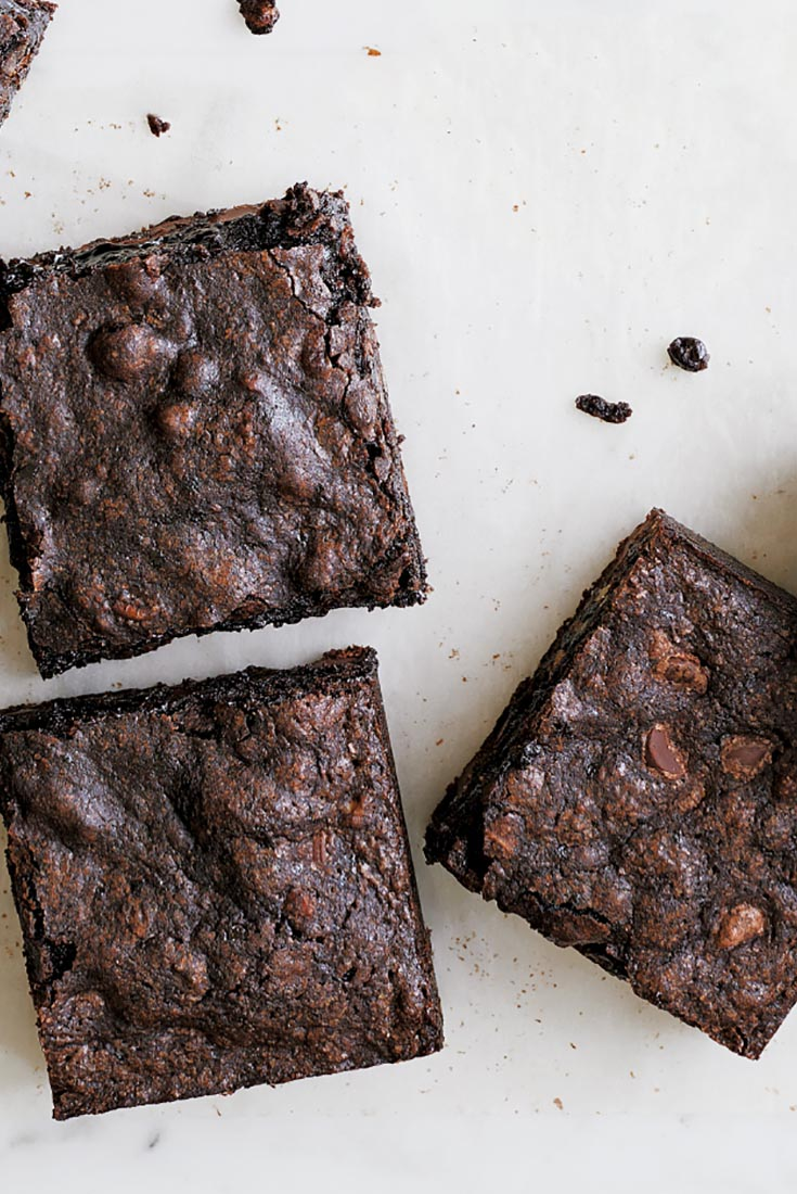 These are the darkest, thickest, moistest, richest brownies you'll ...
