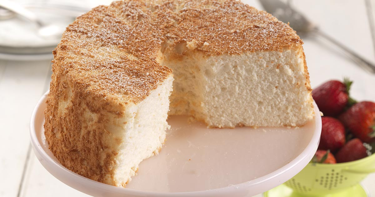 Traditional Angel Food Cake Recipe King Arthur Flour