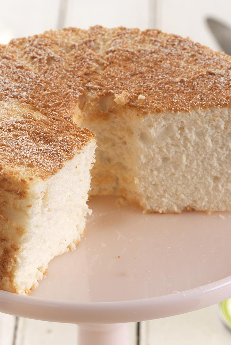 Traditional Angel Food Cake Recipe