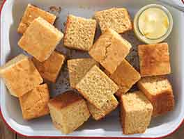 Gluten-Free Golden Millet Cornbread