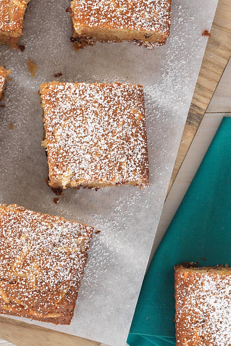 Gluten-Free Quinoa Apple Snack Cake Recipe