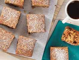 Gluten-Free Quinoa Apple Snack Cake