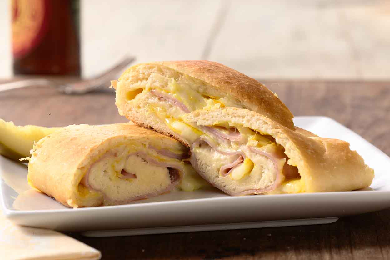All American Ham And Cheese Roll