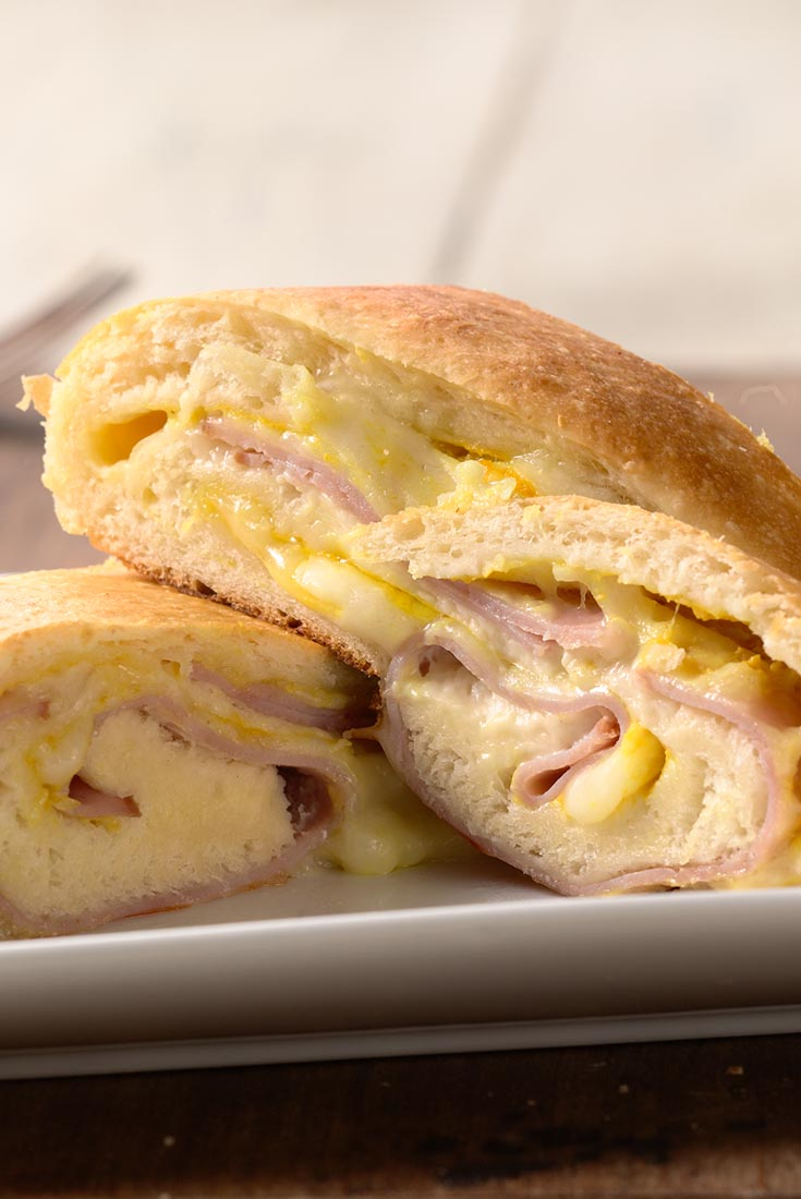 All-American Ham and Cheese Roll Recipe
