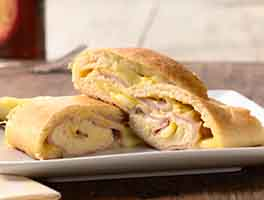 All-American Ham and Cheese Roll