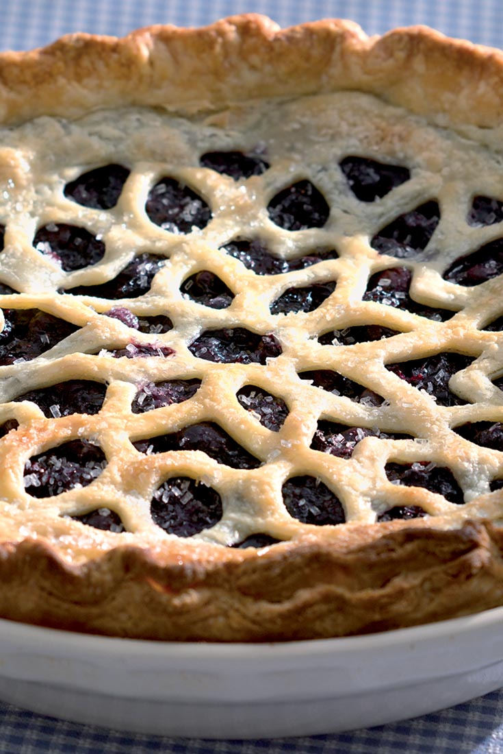 Blueberry Pie with a Twist Recipe
