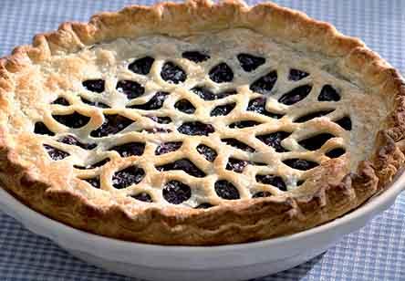 Blueberry Pie with a Twist