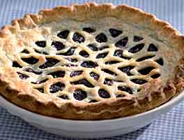 Blueberry Pie with a Twist