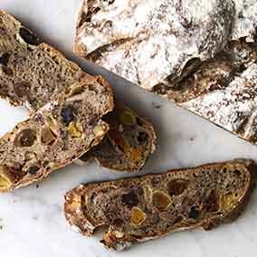 Nutty-Fruity sourdough