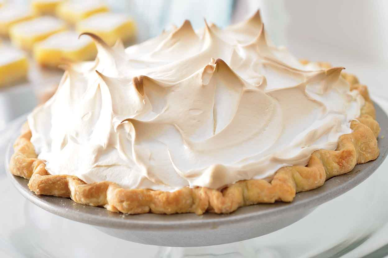 Mile-High Meringue Pie