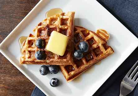 Old-Fashioned Maine Sourdough Waffles