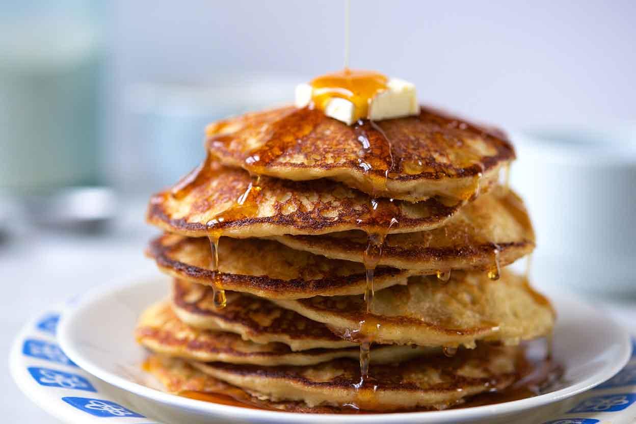 Homemade Whole Grain Pancake Mix Recipe King Arthur Flour