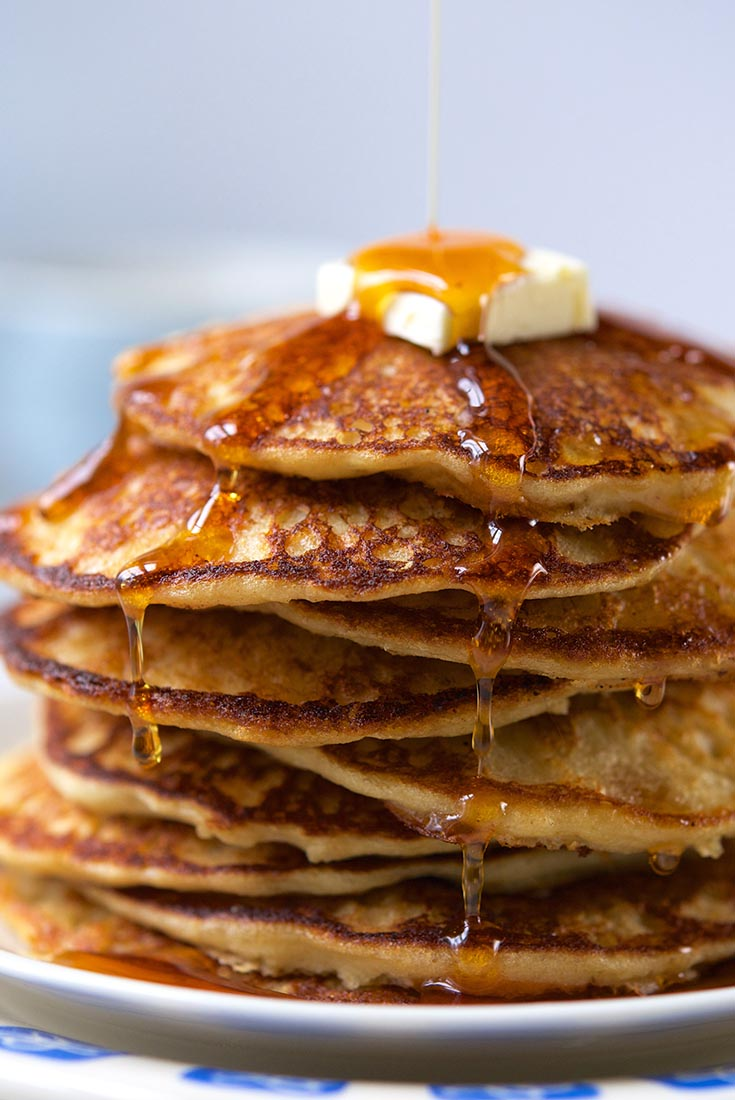 Homemade Whole Grain Pancake Mix Recipe