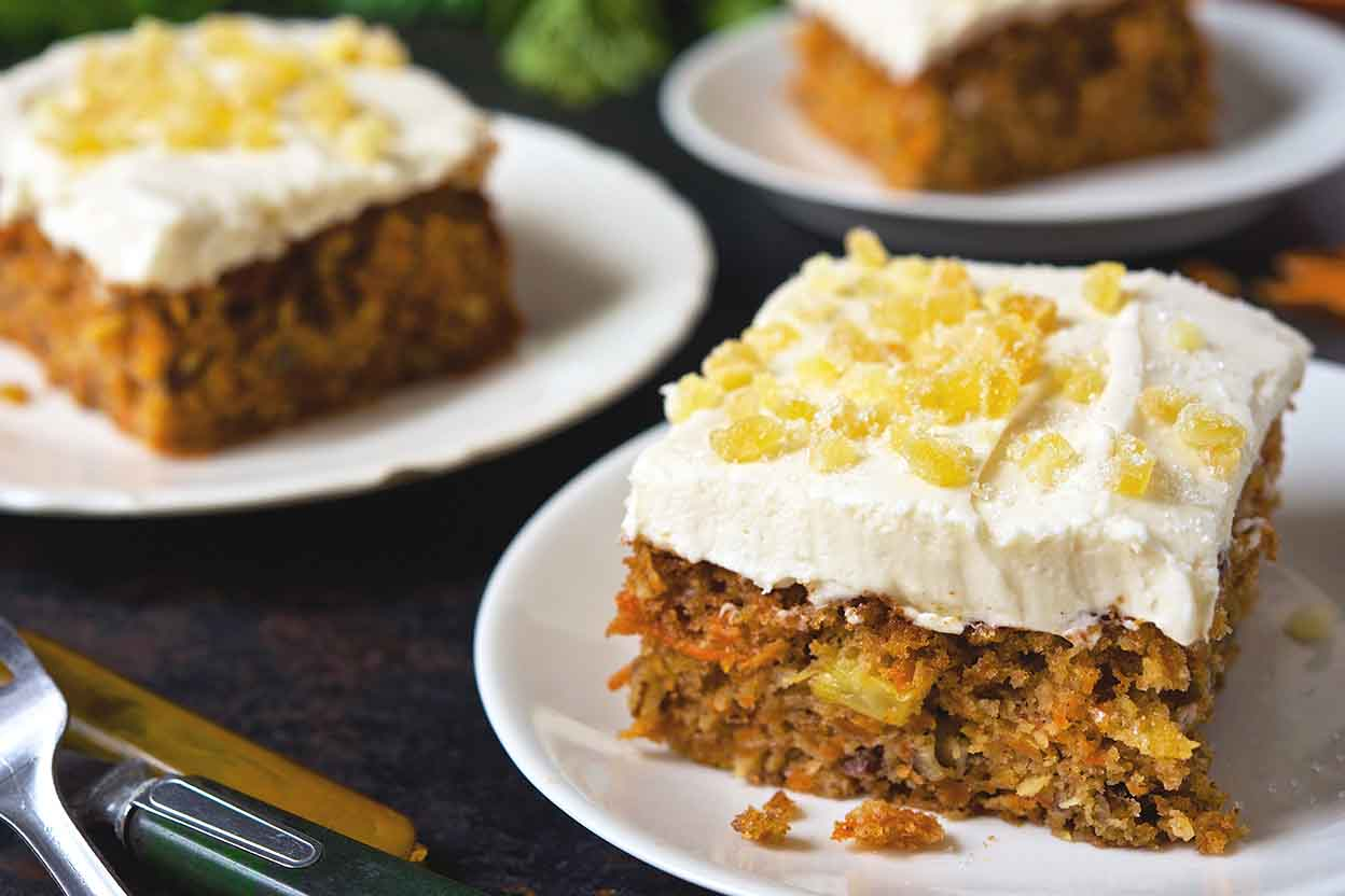 Quot Kitchen Sink Quot Carrot Cake Recipe King Arthur Flour