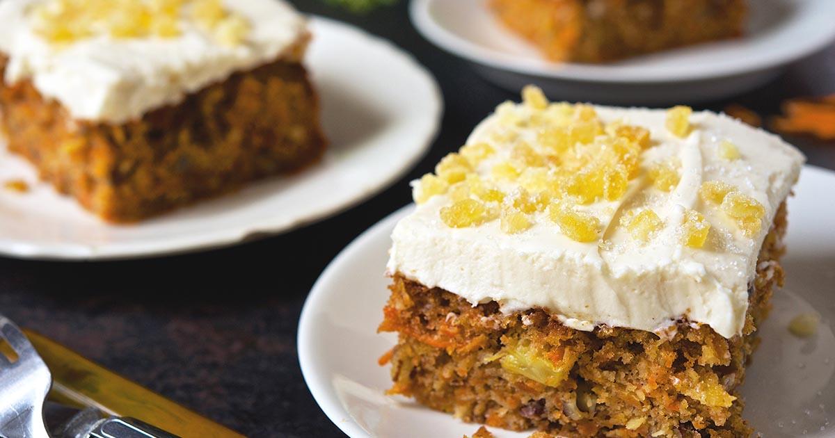 Quot Kitchen Sink Quot Carrot Cake Recipe King Arthur Flour