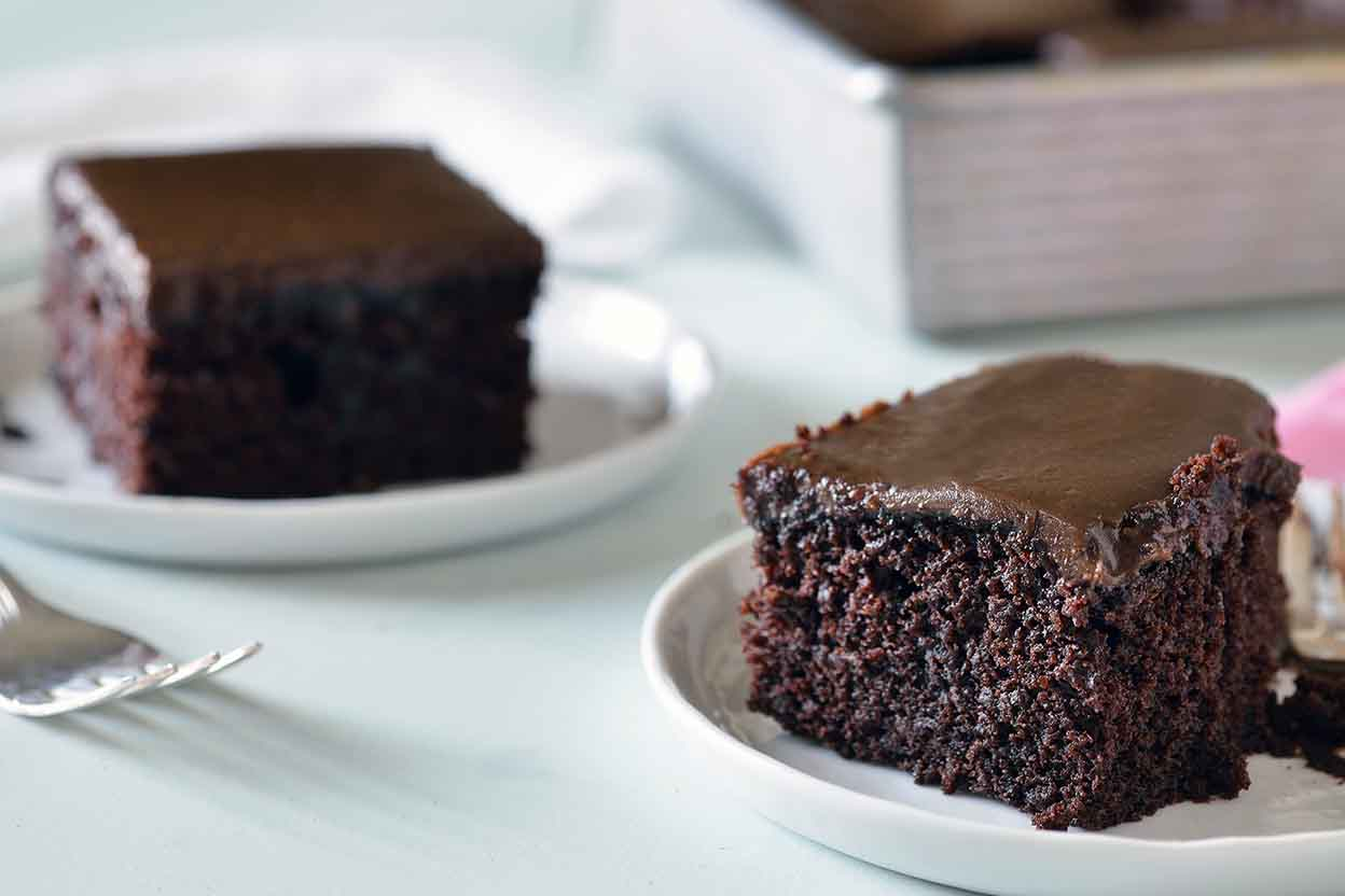 Devil S Food Cake With Chocolate Fudge Frosting Recipe: Fudge Frosting Recipe