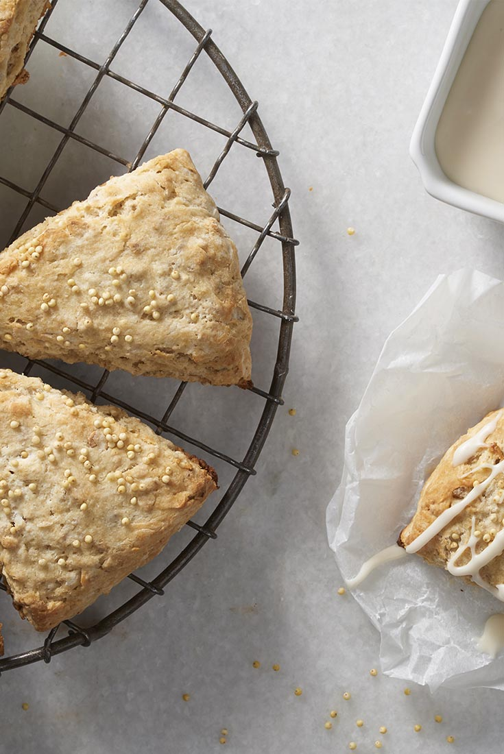 Maple Millet Scones Recipe